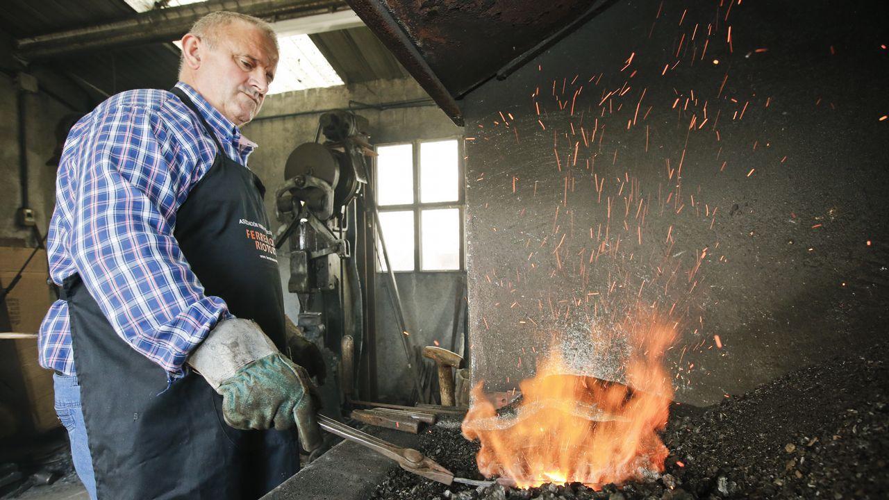 Trabajando con vocación de hierro