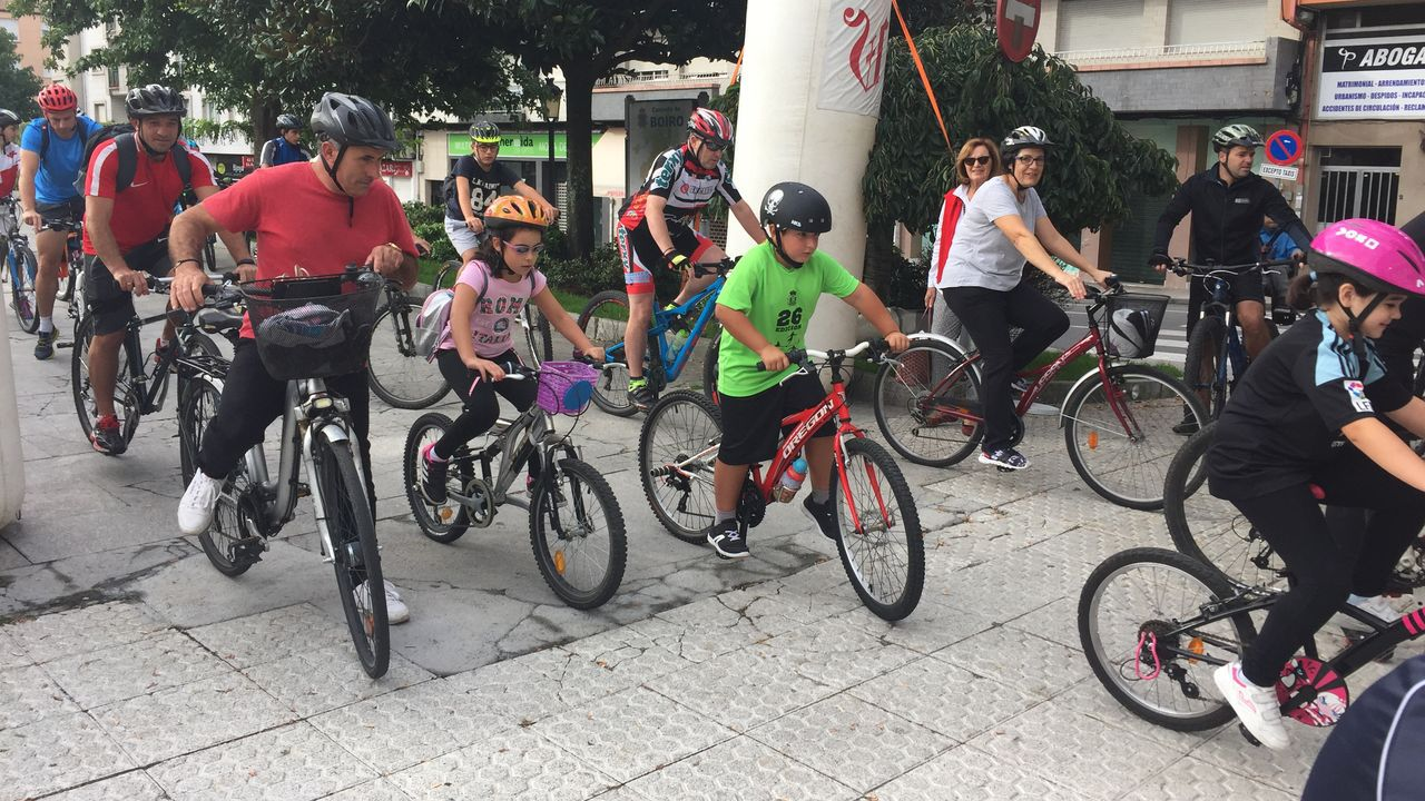 Día da Bicicleta en Boiro