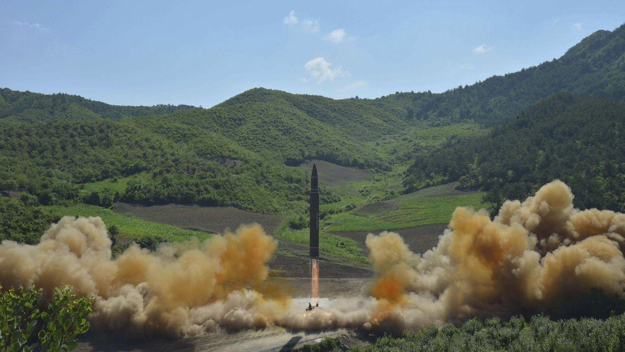Así fue el lanzamiento del misil norcoreano.Rueda de prensa de partidos opositores al chavismo en Caracas tras la detención de Leopoldo Lopez y Antonio Ledezma