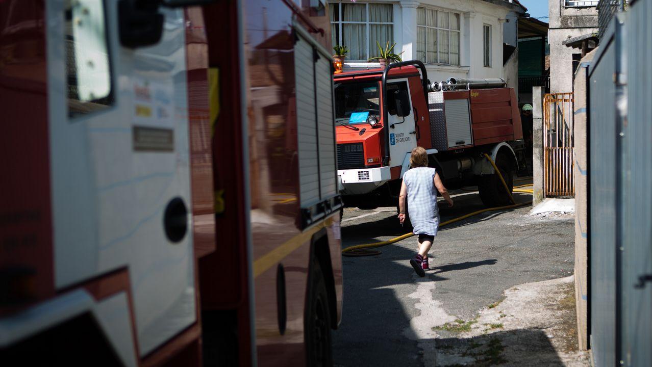 El incendio entre Quiroga y O Courel afecta ya a 100 hectáreas
