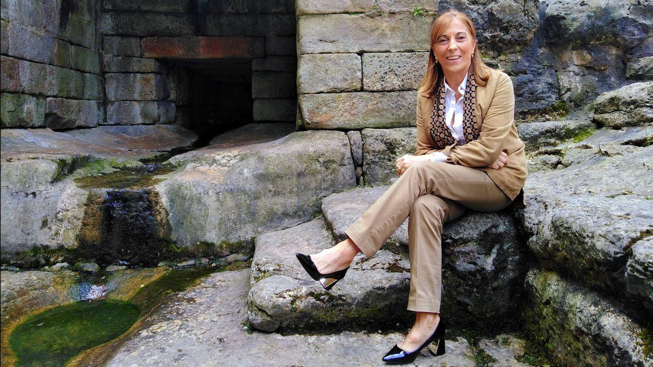 La PAH paraliza un desahucio en Oviedo.Casilda Sabín, Plena Inclusión Asturias