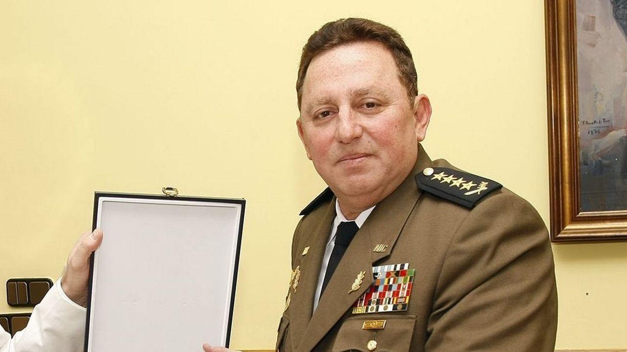 El Comandante en Jefe del Ejército de Nicaragua, Julio César Avilés, en una imagen de archivo del 2012