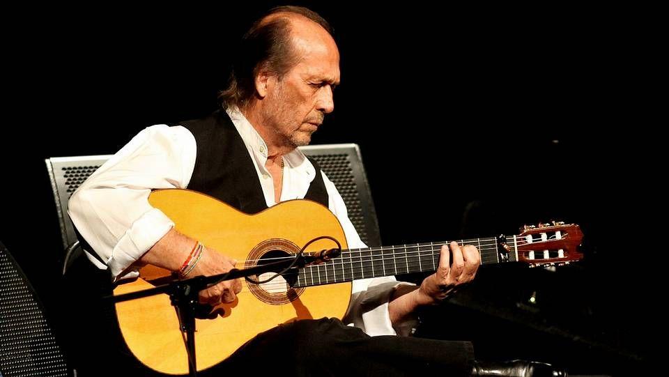 Paco de Lucía, en una imagen de archivo en octubre de 2013.