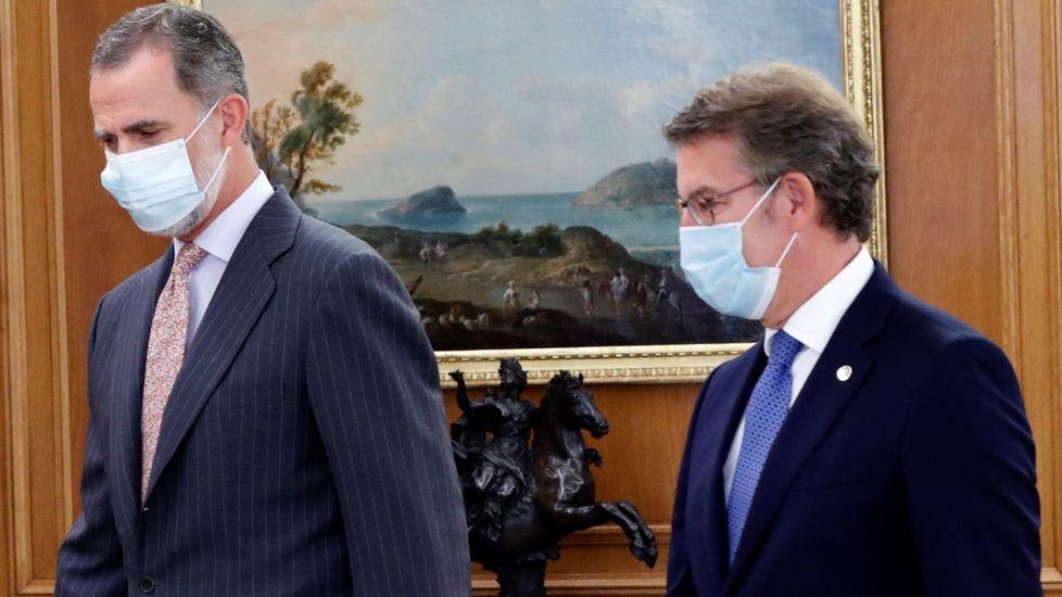 El rey Felipe, en un acto al que asistió el pasado 8 de septiembre
