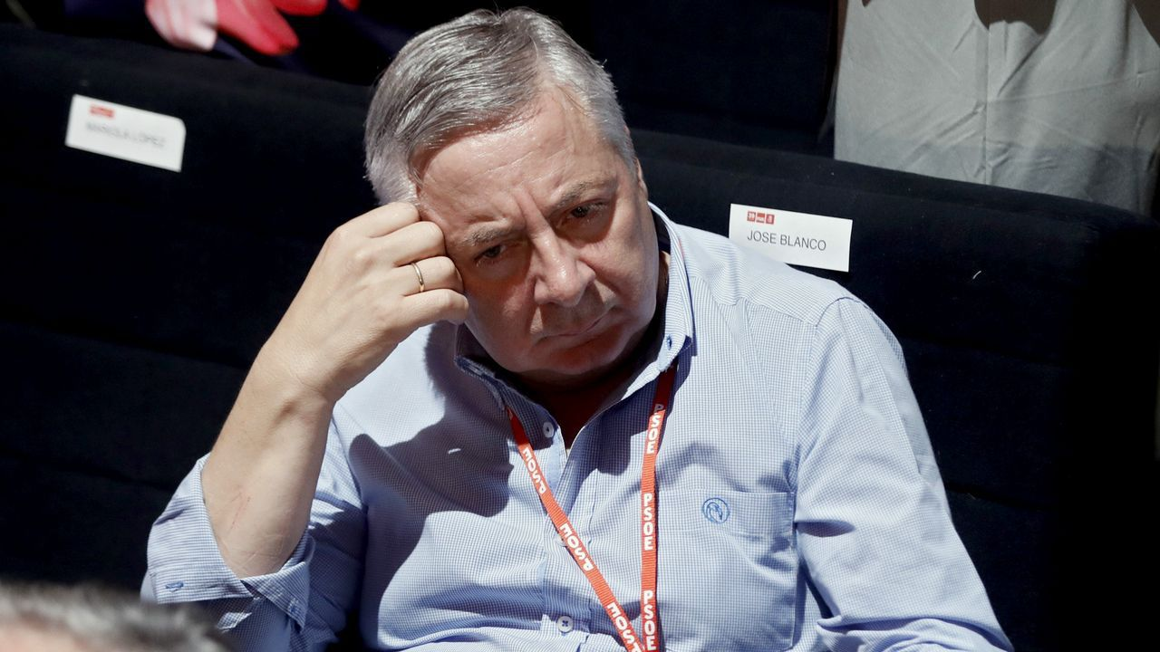 El eurodiputado José Blanco