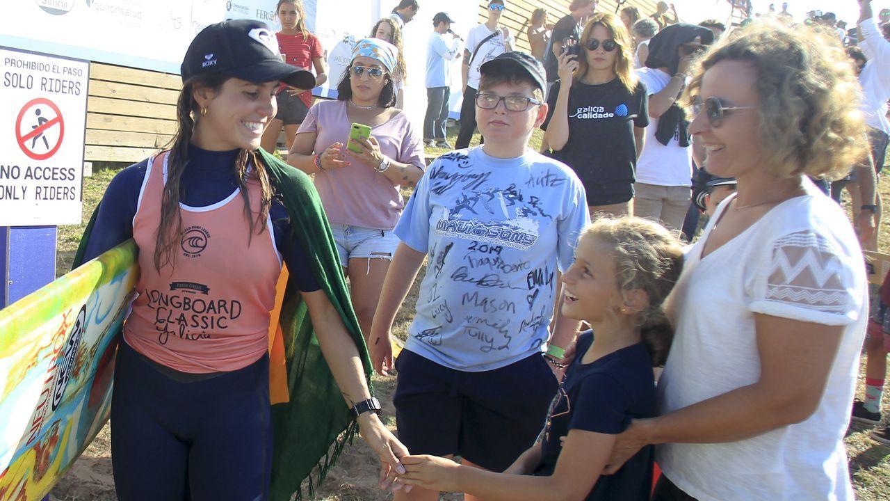 Justin Quintal y Chloe Calmón ganan la prueda mundial de longboard de Pantín