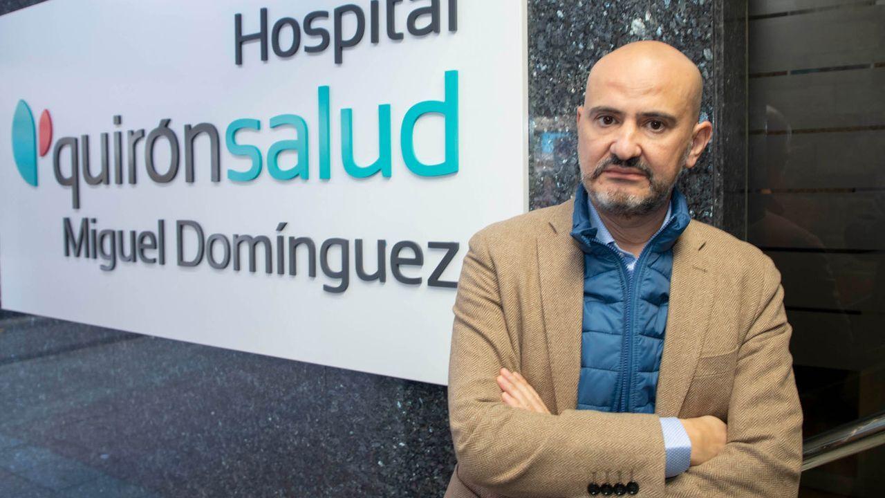 Llega la segunda dosis de la vacuna contra el coronavirus a Vigo.Carlos Villar,  nuevo director médico de Quironsalud en Pontevedra