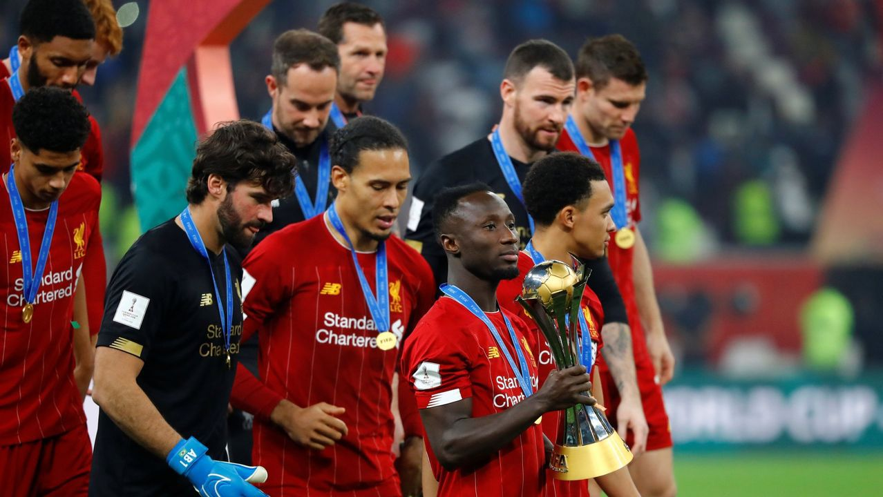 El Liverpool ganó el último Mundial de clubes