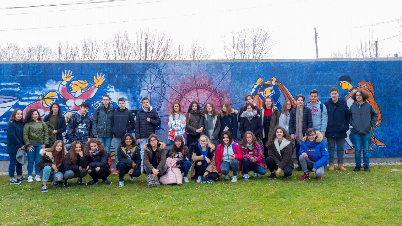 El viaje en tren del ministro de Fomento de Sarria a Lugo.En marzo hubo una cumbre sobre el corredor ferroviario en O Barco