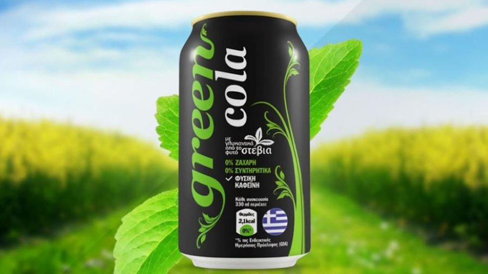 Una lata de Green Cola