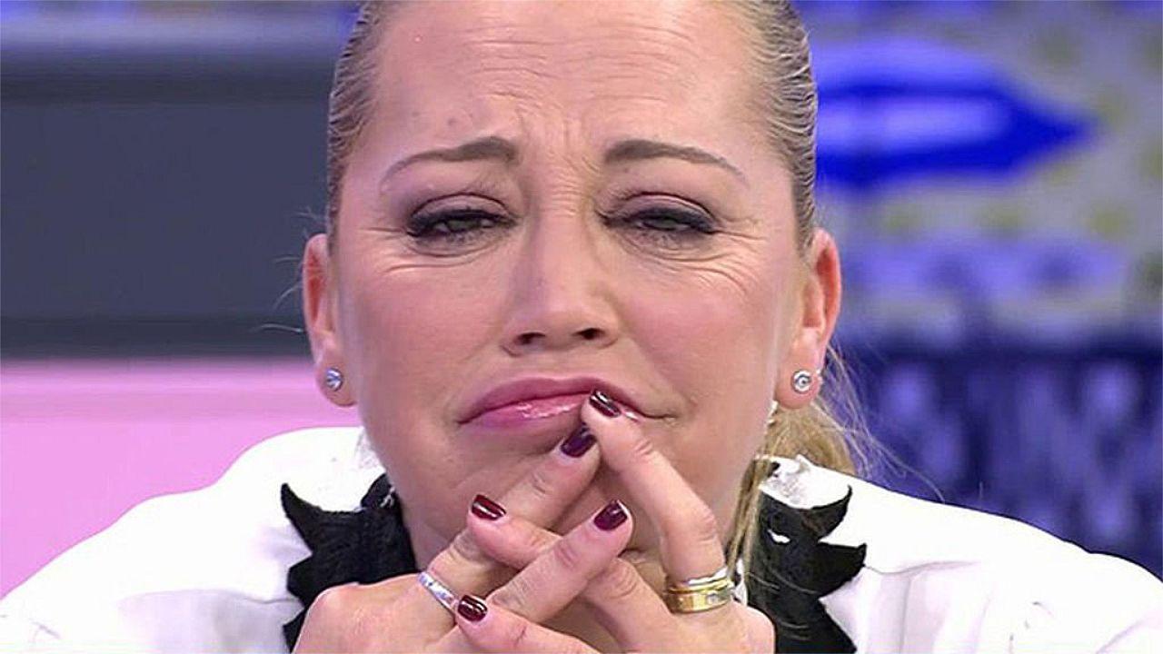 Belén Esteban guarda silencio ante el comunicado de Andrea