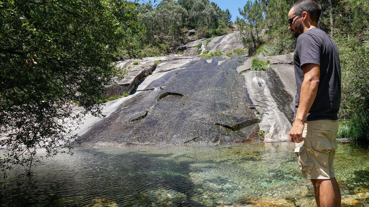 A Pobra, piscinas naturales
