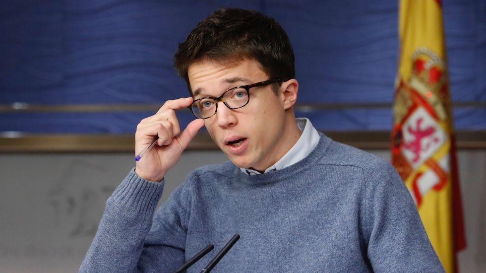 «Late Motiv» parodia la entrevista de la BBC con nuevos protagonistas.Errejón e Iglesias en el Congreso