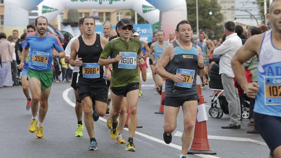 Carrera Coruña 10. 11 de octubre del 2015