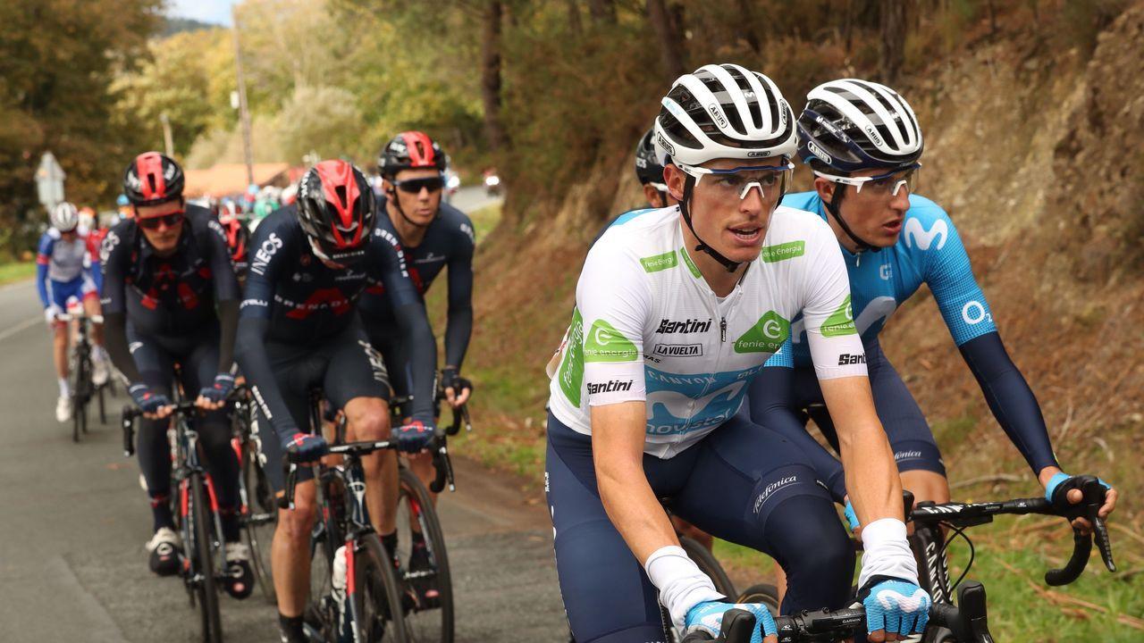 Camión laboratorio covid de La Vuelta a España