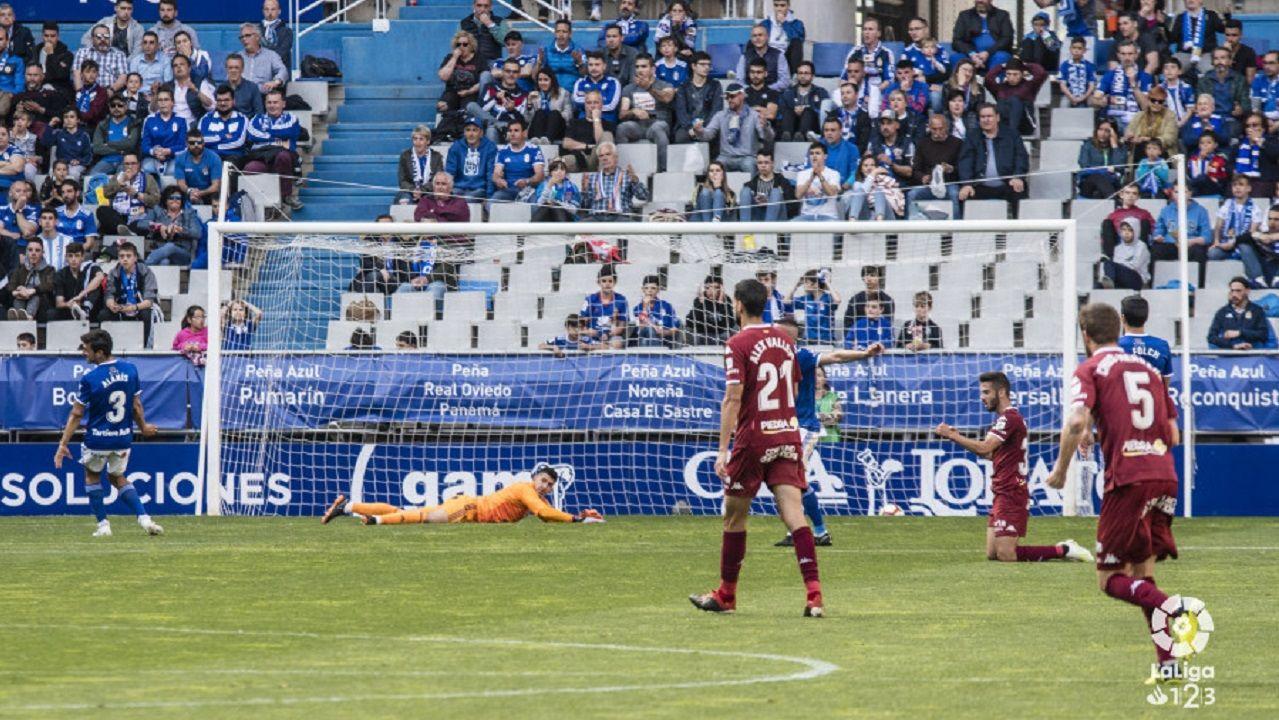 Gol Real Oviedo Cordoba Carlos Tartiere