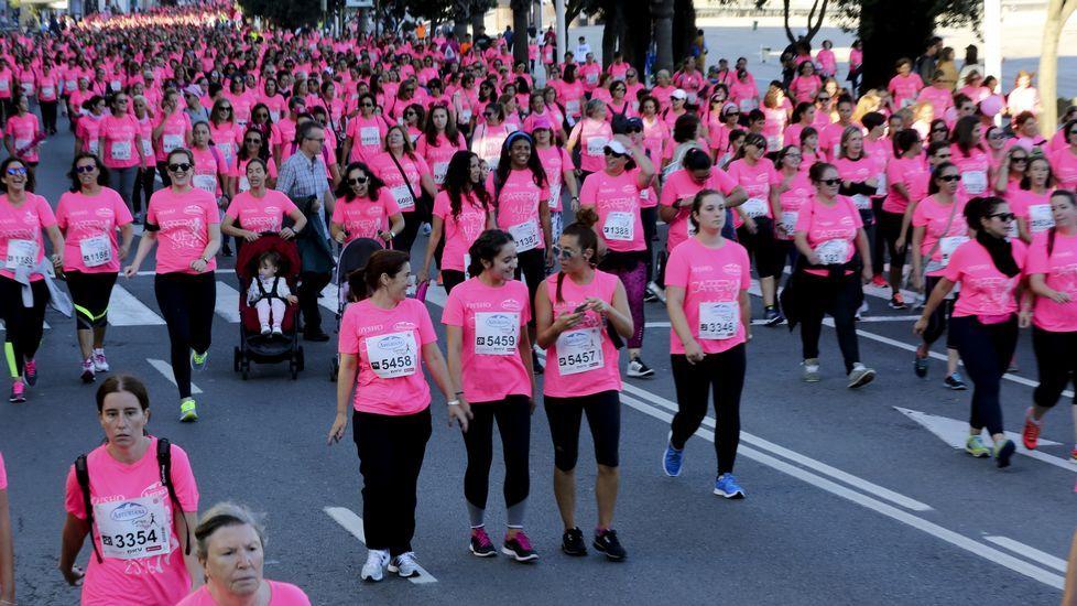Carrera de la mujer 2016 en A Coruña