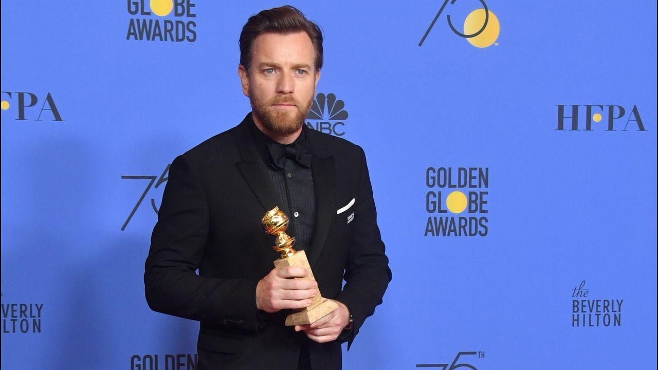 Em televisión, mejor actor de miniserie: Ewan McGregor, por «Fargo».