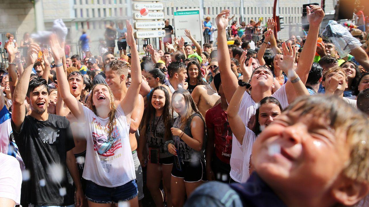 Imagen de la Festa da Auga de Vilagarcía en el 2018
