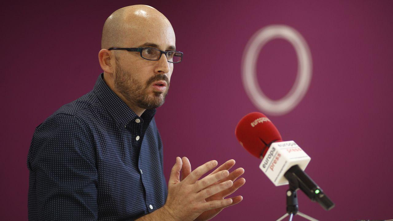 El secretario de Estado de Derechos Sociales y dirigente de Podemos, Nacho Álvarez