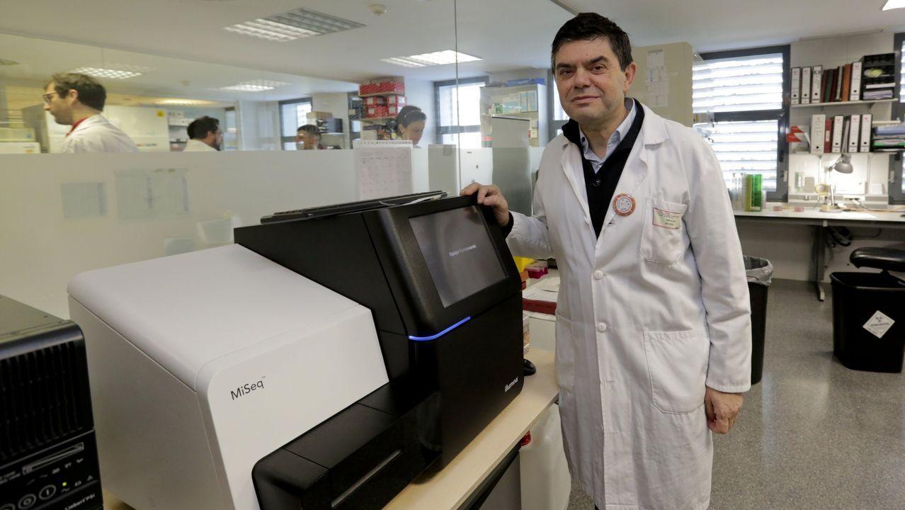 Germán Bou, jefe de Microbiología del Chuac