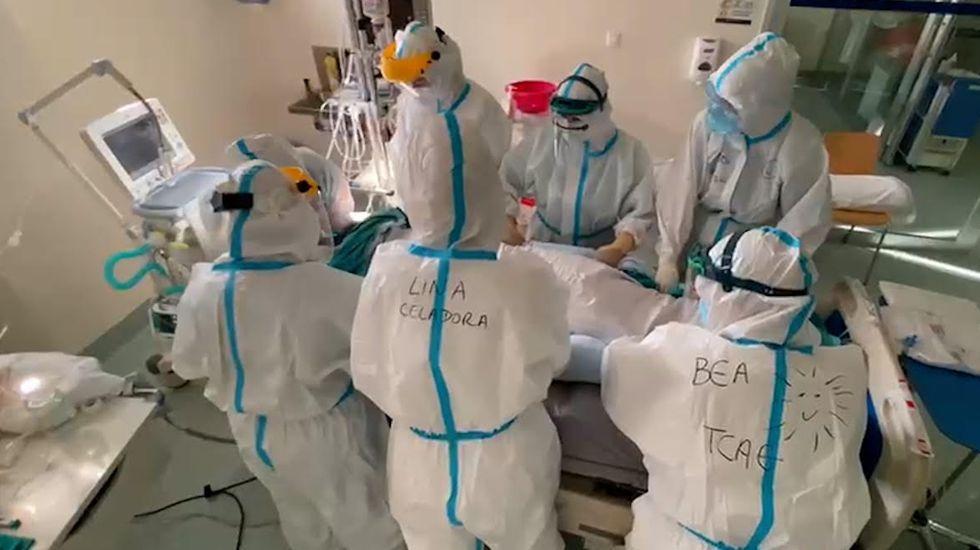 Hay tres pacientes ingresados en la uci-covid