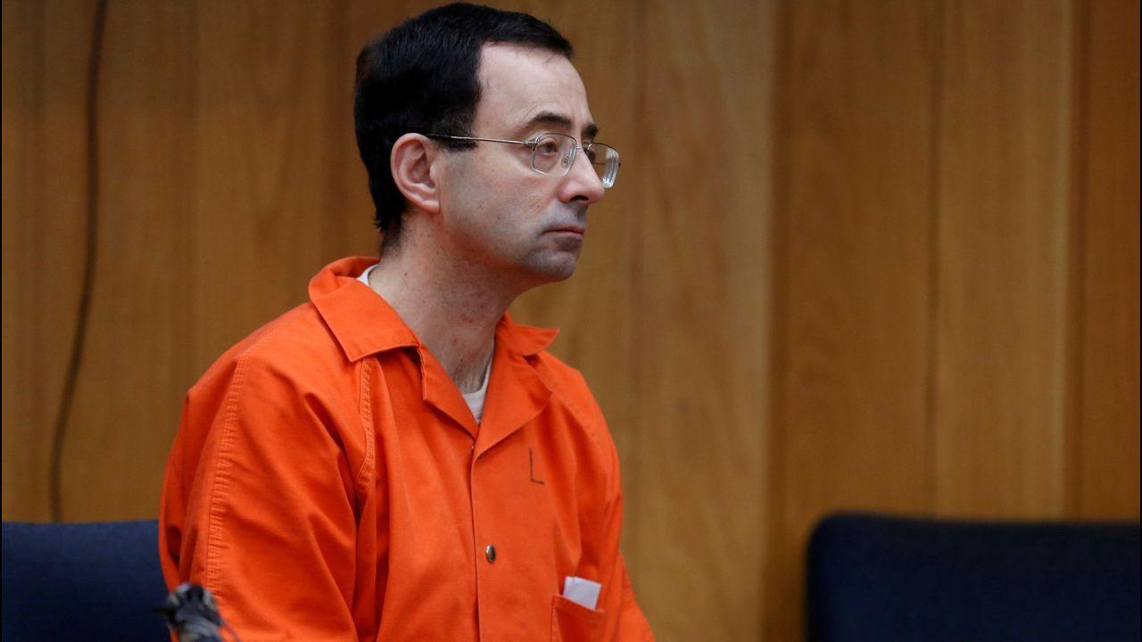 Palacio de Justicia de Gijón. Juzgados.Larry Nassar, el medico del equipo de gimnasia condenado por abusos