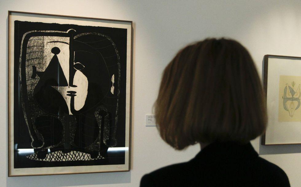 Las piezas que conforman la muestra de grabado pertenecen a la colección de Arte de Afundación.