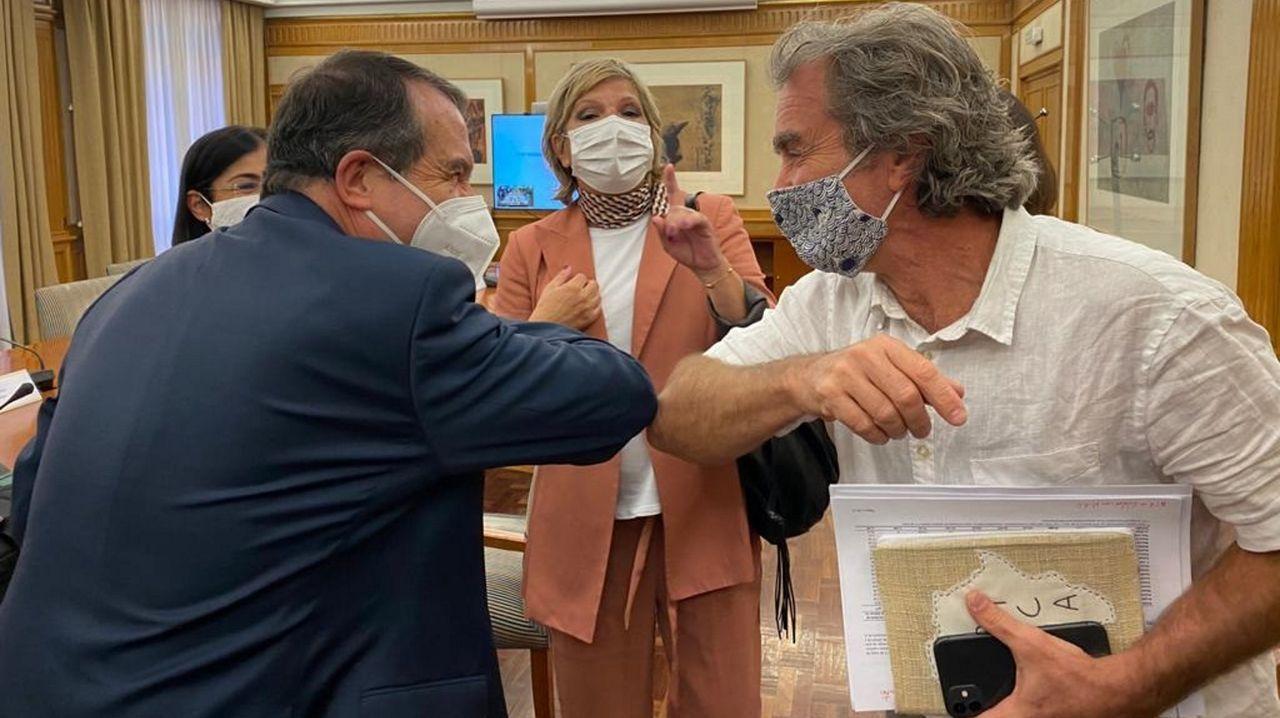 La toma de posesión en imágenes.Carolina Darías, en una imagen de archivo, durante una intervención en el Senado