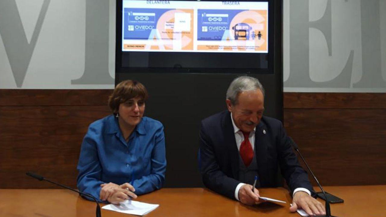 Ana Rivas y Wenceslao López