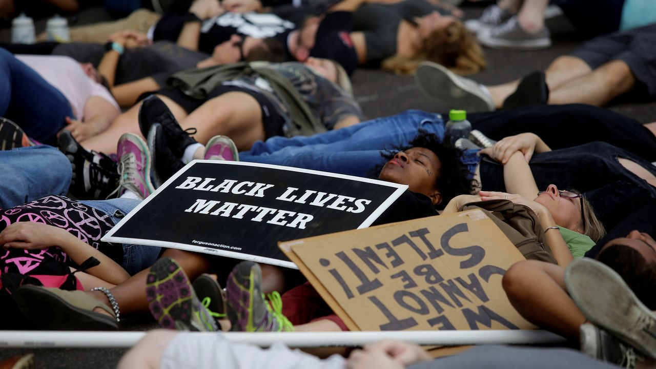 Protestascontra el racismo en San Luis