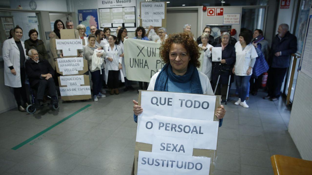 Protesta centro salud, atención primaria, por sobrecarga asistencial
