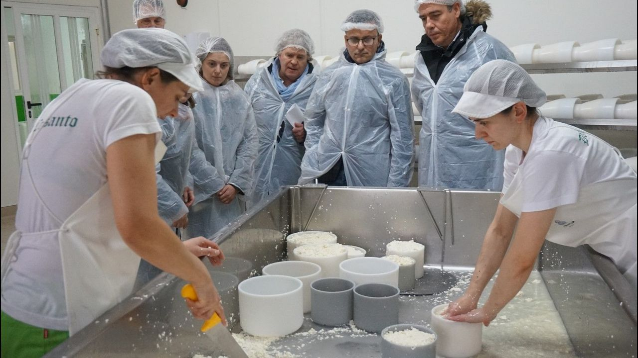 La inauguración de Moexmu, en imágenes.Vacas de leche
