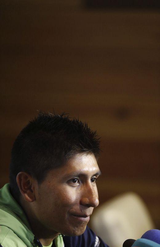 El colombiano del Movistar Nairo Quintana
