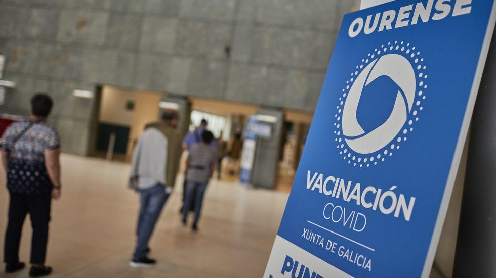 Hoy está prevista una nueva jornada de vacunación masiva en Expourense.