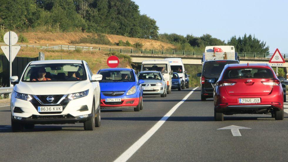 El tráfico en el corredor Lugo-Monforte sube de año en año por encima de la media gallega
