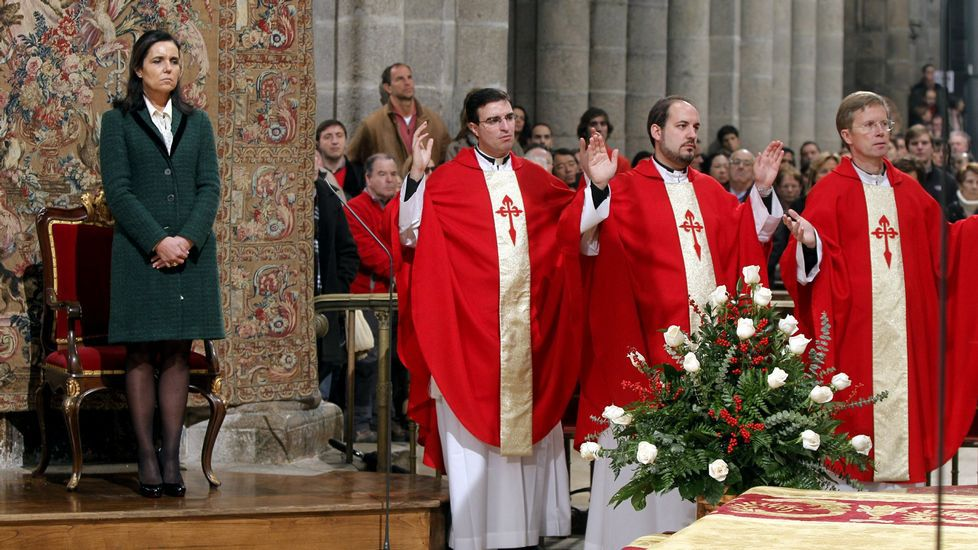Acto de Traslación de los restos del Apóstol del 2012
