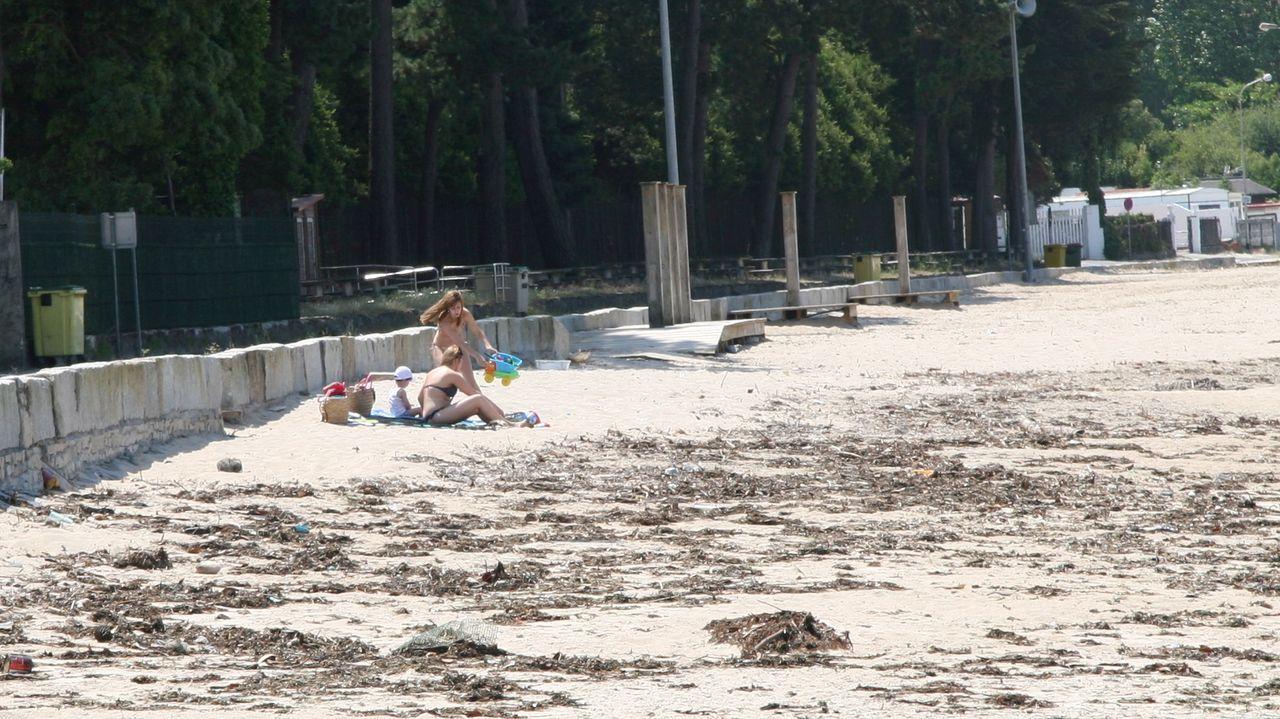 Imagen de archivo de la playa de Gandarío