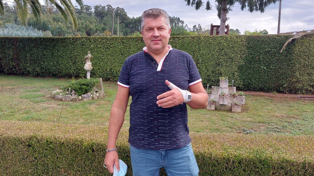 Miguel Rodríguez sufrió una fortísima descarga el 23 de julio de la que salió con vida