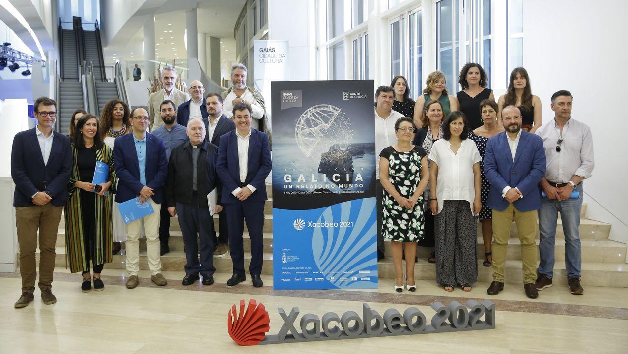 La Xunta presentó en el Gaiás la exposición
