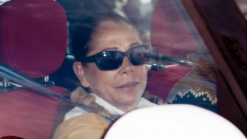 Isabel Pantoja, en un permiso penitenciario