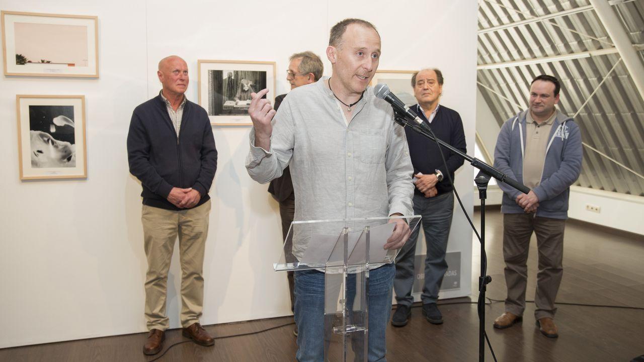 Así fue la entrega de los premios de fotografía Xosé Manuel Eirís.Pablo González