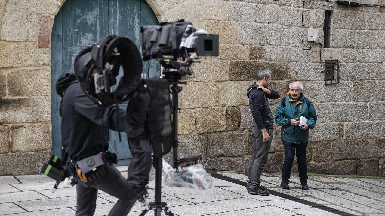 Nueva noche de altercados y enfrentamientos en Barcelona.Protesta de retornados en Ourense, en una imagen de archivo