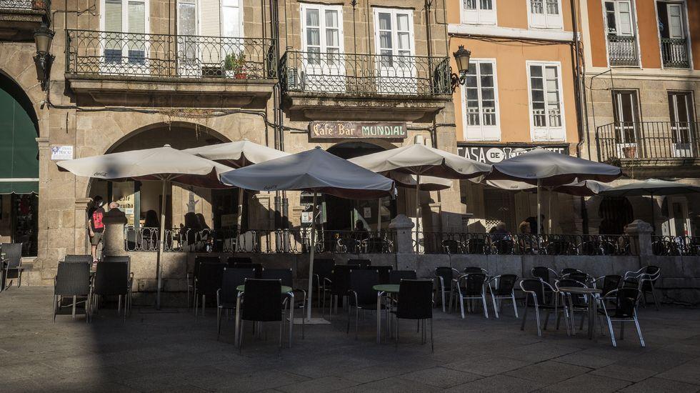 Siguen en Ourense las limitaciones de aforo en los bares