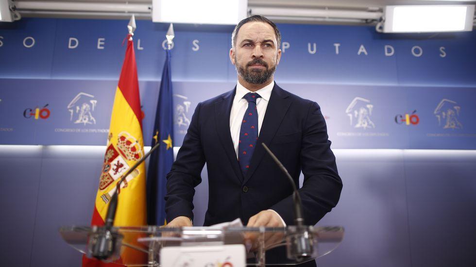 La candidata del PP a la presidencia de la Comunidad de Madrid, Isabel Díaz Ayuso, suscribió un pacto de gobierno con el líder autonómico de Cs, Ignacio Aguado