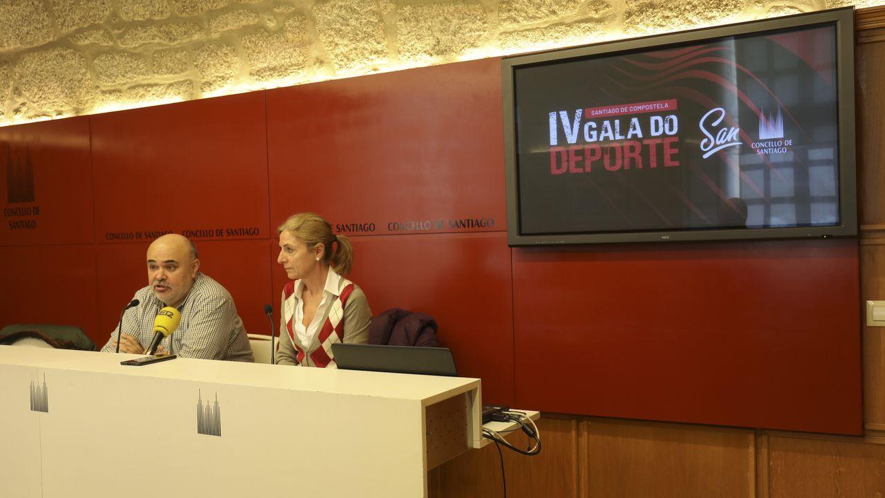 Vista de los juzgados de Santiago, en imagen de archivo
