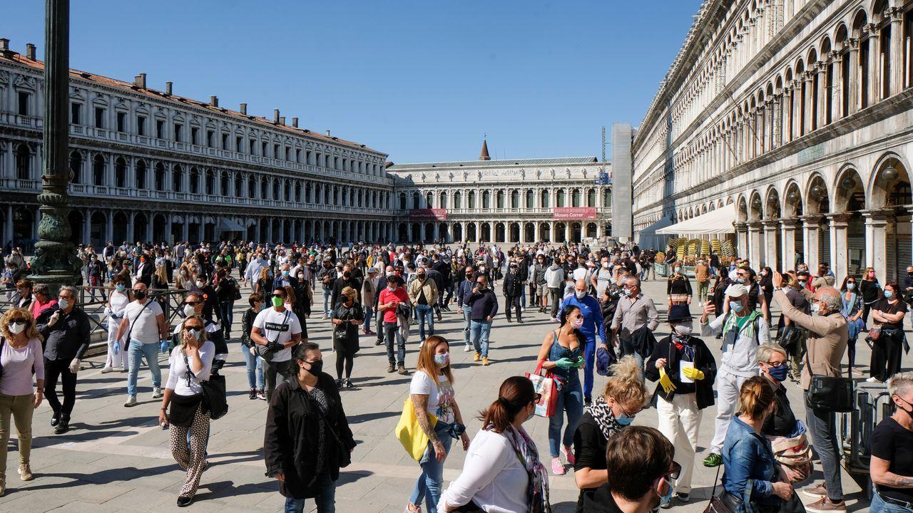 Venecia comienza a recuperar la normalidad con la desescalada