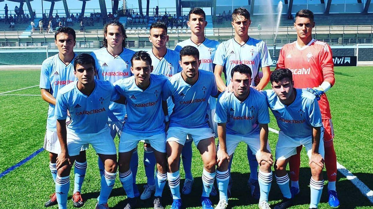 La épica victoria del Celta B ante el Peña Deportiva, en imágenes