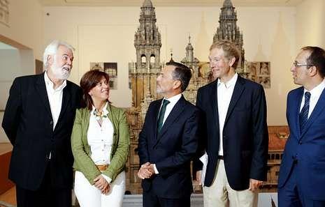 El ciclo de conciertos fue presentado ayer en el Museo das Peregrinacións e de Santiago.