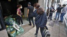 La semana pasada se desalojaron dos viviendas en Yáñez Rebolo
